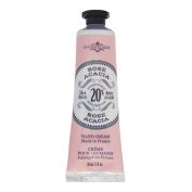 La Chatelaine 20% Shea Butter Hand Cream, 1 fl oz (30 ml), Made in France with Organic Shea Butter and Argan Oil - Rose Acacia