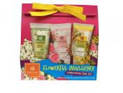 Gift Set Hand Cream : Sabai-arom Hand Cream Blossom Set 75g. Siamese Blossoms, Jasmine Ritual, Rose De Siam.