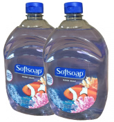 Softsoap Liquid Hand Soap, Aquarium Series, 1890ml Refill Bottles