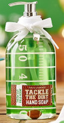 Two's Company Football Theme Tackle the Dirt Hand Soap