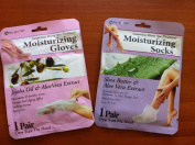 moisturising GLOVES & SOCKS 1PC+1PC