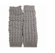 Iseebiz® Women's Ribbed Leg Warmers Fashion Knee High Leg Socks Banket Winter Knit Crochet Warmer Legging