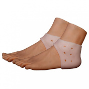 Silicone Gel Soft Breathable Heel Protector Cushion Foot Care Reduce Heel Shock Prevent Heel Bone Blisters Calluses Heel Air Support