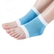 Malloom Yoga Heel Socks for Dry Hard Cracked Skin Moisturising Open Foot Recovery Socks