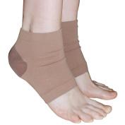 Dr. Bosby Heel Silicone Gel Pad - Wear For Smooth Soft Healthy Heels Regular