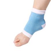 Sannysis Heel Socks for Dry Hard Cracked Skin Moisturising Open Toe Recovery Socks