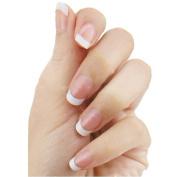 Ciamlir 100PC White False French Nail Art UV Gel Acylic Tip