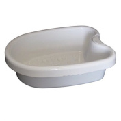HEAVY DUTY HARD ACYRLIC FOOT BASIN FOR DETOX FOOT SPAS OF FOOT SOAKS, WITH 100 LINERS