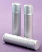 25 New Empty LIGHT SILVER Lip Balm Tubes - 5ml