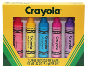 Crayola 5 Large Flavoured Lip Balms