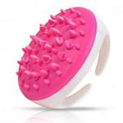 Aoohe Soft Cellulite Body Massager Brush Glove Slimming Relaxing Scrub Massager Bath Spa Colour Randomly Home