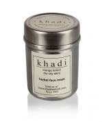 Khadi Natural Orange And Lemon Face Pack For Oily Skin, 50G