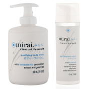 Mirai Clinical Persimmon Body Wash and Body Serum