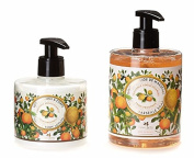 PANIER DES SENS Provence Liquid Marseille Soap and Hand and Body Lotion Set