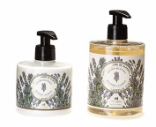 PANIER DES SENS Lavender Liquid Marseille Soap and Hand and Body Lotion Set