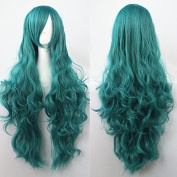 "Women/ladies 32"" 80cm Long Curly Hair Cosplay/costume/anime/party/bang Full Sexy Wig"