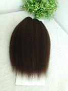 25cm Colour #2 Italian Yaki Human Hair Extensions Wefts--25cm