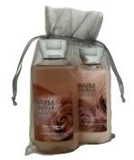 Bath & Body Works Warm Vanilla Sugar Gift Set Bundle of 2 Items