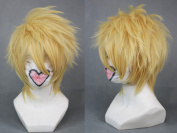 Cf-fashion 30cm Layered Blonde Short Cosplay Wig -- Amnesia Toma Fancy Wigs