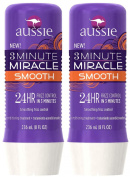 Aussie 3 Minute Miracle Smooth Conditioning Treatment, 240ml, 2 pack