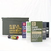Duke Cannon Ammo Can Gift Set - Limited Edition U.S. Military Field Box Gift Pack