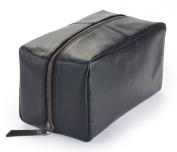 Harris Luxury Leather Dopp Kit Shaving Toiletry Travel Bag