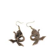 60 Pairs Jewellery Making Charms Supply Supplies Wholesale Fashion Earring Backs Findings Ear Hooks K1AA8 Mermaid