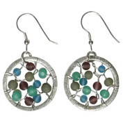 Sitara Collections SC5543 Aloka Glass Beaded Earrings