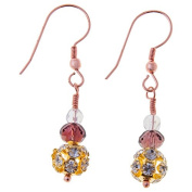 Sitara Collections SC5545 Anokhi Glass & Crystal Bead Earrings
