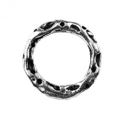 Silver Overlay Ring Findings RSF-117-17MM