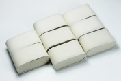 8 White Velvet Watch & Bracelet Pillow Jewellery Displays