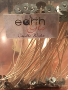 EarthGlo Candle Wicks ~ Pack Of 50 Wicks - Large