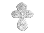 Celtic Cross - Paint Your Own Ceramic - Unfinished Low-Fire Ceramic Bisque - Paint-a-Potamus