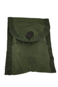 Army Compass First Aid Pouch OD Green 5 Pouches NSN# 8465-00-935-6814