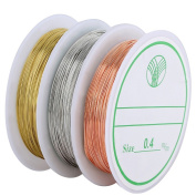 Navifoce Bare Copper Wire Tarnish Resistant Jewellery Wire