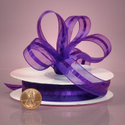 Premiuim Purple Organza Ribbon