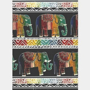 Elephant Heavy Gift Wrapping Paper -60cm x 9.1m Roll