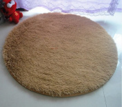 Forever Lover Daughter's Paradise Round Shaggy Area Rugs and Carpet Super Soft Sitting Room Bedroom Living Room for Kids Play for Yoga for Dancing