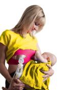 Pump Strap Hands Free Breastpump Pumping & Nursing Bra Strap - Hot Pink