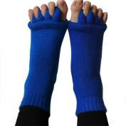 W8sunjs Massage Toe Socks Foot Alignment Socks 3 Colours for Choose
