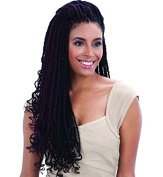 FreeTress Equal Synthetic Hair Braid - CUBAN TWIST 60cm