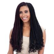FreeTress Equal Synthetic Hair Braid - CUBAN TWIST 60cm
