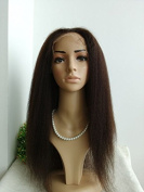 100% INDIAN REMY HUMAN HAIR ITALIAN YAKI GLUELESS SILK TOP WIG BLEACHED KNOTS AND BABY HAIR FOR BLACK WOMEN IN STOCK