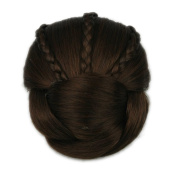 Hot Fashion ,Raided Clip in Hair Bun, Hair Chignon, Donut Roller Hairpieces, 1pc