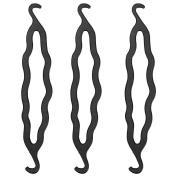 CCbeauty 3PC Women Lady Hair Twist Styling Clip Stick Bun Maker Braid Tool Hair Accessories
