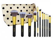 BS-MALL(TM) Premium Synthetic 11 PCS Makeup Brushes Set