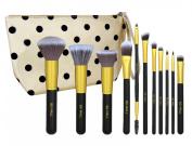 BS-MALL(TM) Premium Synthetic 11 PCS Makeup Brushes Set