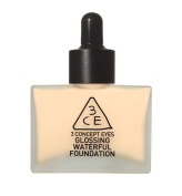 3 Concept Eyes - Glossing Waterful Foundation SPF15, PA+ NUDE BEIGE