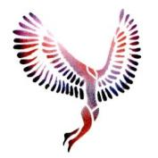 Dinair Airbrush Makeup - Winged Woman - Stencil
