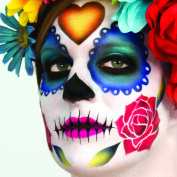 Dinair Airbrush Makeup - Day of the Dead Stencil Set